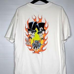 Vintage 90s Planet Janet Rod Rags T Shirt XL